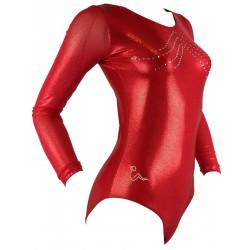 Sleeved leotard B2054