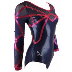 Sleeved leotard B2069