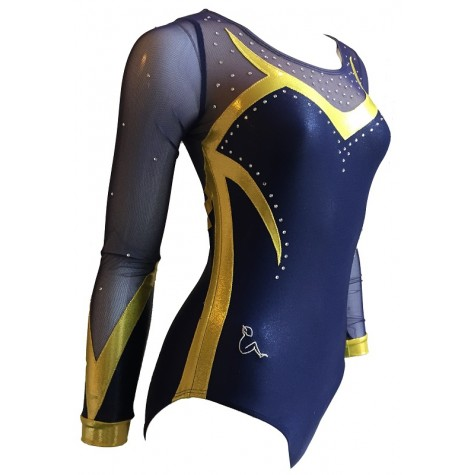 Sleeved leotard B2122